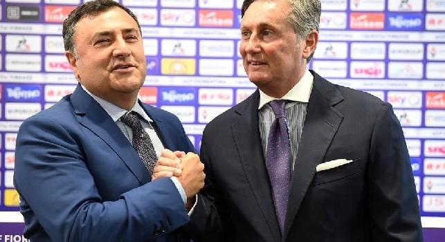 Fiorentina, Barone: Giro di campo con Agnelli? Impossibile, non lo farei neanche per due miliardi!