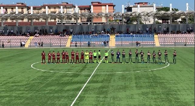 Primavera, Napoli-Torino 1-0 (29'pt Vrakas): termina la partita! Tre punti d'oro, eurogol di Vrakas! Annientato il Torino