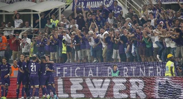 Giudice Sportivo - 5mila euro di multa alla Fiorentina per i cori contro Gasperini