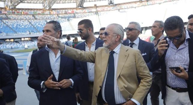 Convenzione stadio San Paolo, Repubblica: si firma entro il 30 o ADL fa il grande strappo. Il Napoli non vuole farsi carico della gestione dei maxischermi