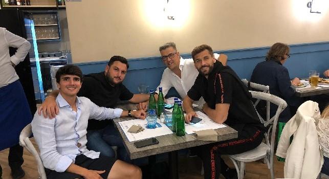 Llorente dopo l'assist si gode Napoli, pizza speciale da un maestro d'autore [FOTO CN24]