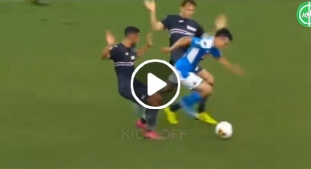 Napoli-Sampdoria, le migliori giocate di Lozano e l'ovazione del San Paolo [VIDEO]