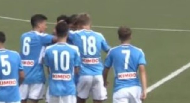 Under 15, il Napoli in testa alla classifica: vittoria per 3-1 ad Ascoli