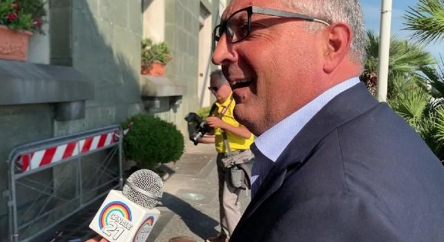 Comune di Napoli, Auricchio: Settimana prossima la firma della convenzione! Pista d'atletica? Nessuna proposta per eliminarla! Bisogna completare i bagni