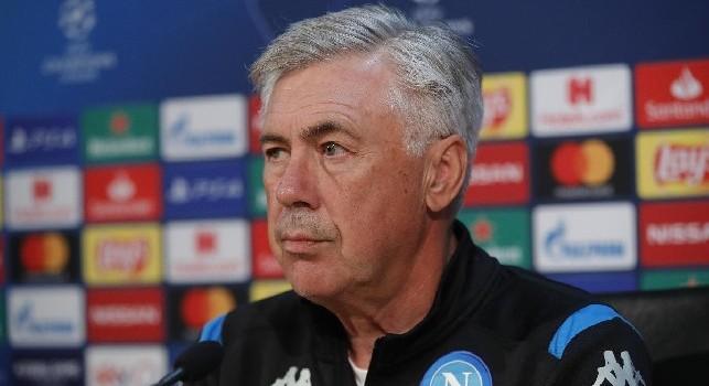 Napoli-Liverpool, il CdM - Attacco inedito per Ancelotti e difesa a tre e mezzo