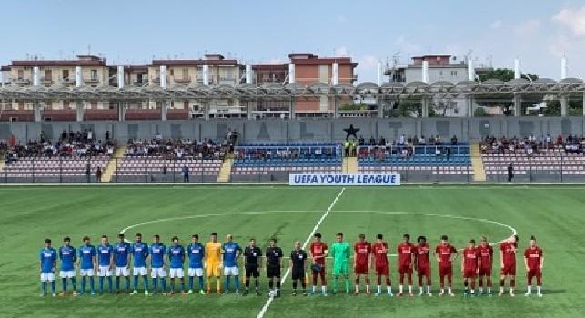Youth League, Napoli-Liverpool 1-1 (29'pt Mancino, 41'st Stewart): termina la partita! Pareggio beffardo dopo un'ottima prestazione