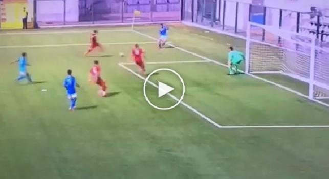 Youth League, Napoli-Liverpool: ecco il gol del vantaggio dell'azzurrino Mancino, che azione! [VIDEO]
