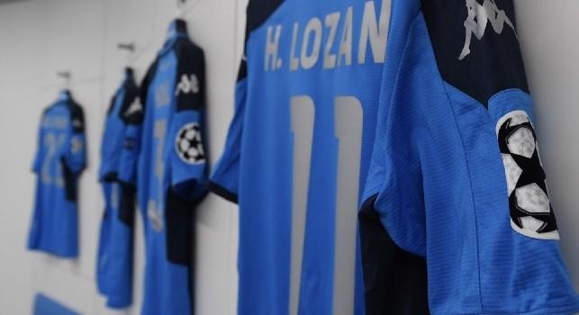Napoli-Liverpool, esordio per la nuova divisa per la Champions [FOTOGALLERY]