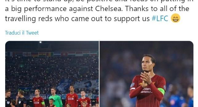 Liverpool, Van Dijk: Dobbiamo lasciarci alle spalle il risultato deludente, è tempo di essere positivi! [FOTO]
