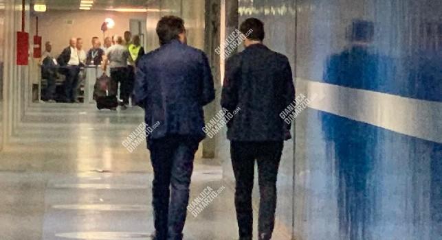 Sky - Giuntoli e Burdisso si sono trattenuti dopo Napoli-Liverpool per parlare di mercato: i due erano già in contatto in passato per Almendra