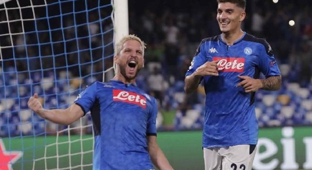 Di Lorenzo entusiasta: L'inno della Champions, l'urlo del San Paolo, la vittoria: non potevo desiderare esordio più bello