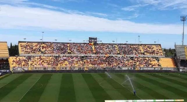 Lecce-Napoli, prezzi troppo elevati: esclusi gli abbonati, solo 2.000 biglietti venduti