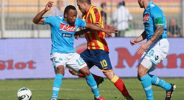 Lecce-Napoli, i precedenti: solo due vittorie degli azzurri