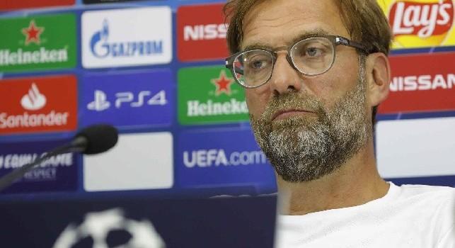 Liverpool, Klopp si arrende: Non è possibile dominare sul Napoli