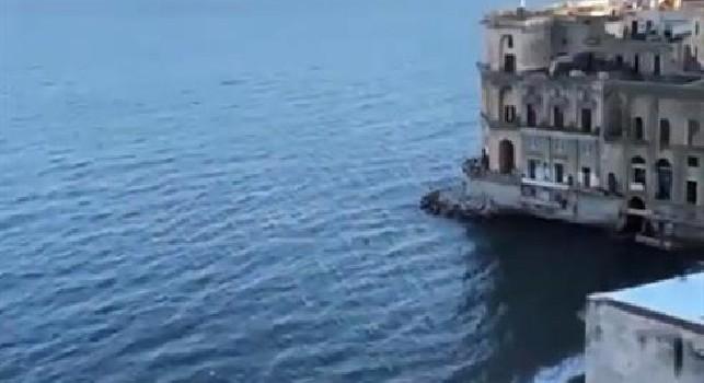 Lady Lozano ed il panorama mozzafiato di Napoli: Amore [VIDEO]