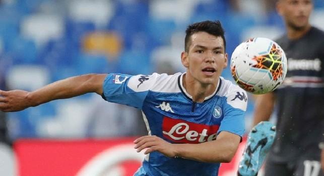 Lozano: Da bambino ho sempre sognato di fare il calciatore. Dio mi aiuta e segno sempre al debutto