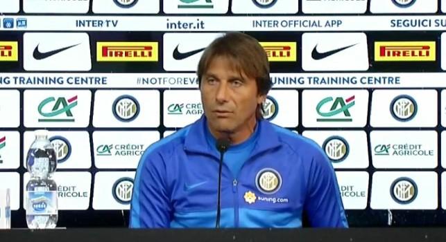 Inter, Conte: In Champions non abbiamo esperienza, ma daremo tutto contro il Dortmund