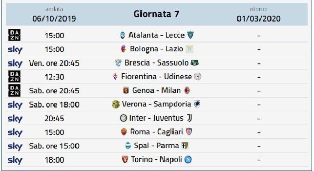 Diretta gol Serie A