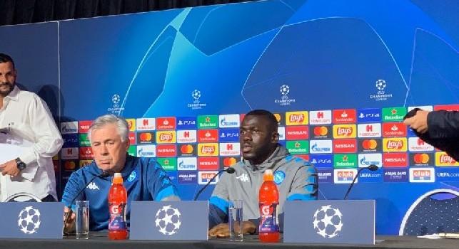 Ancelotti: Non mi è piaciuto l'atteggiamento col Brescia. Rischiamo la figuraccia se non pensassimo che domani soffriremo. Su Milik e la strigliata ai miei... [VIDEO CN24]