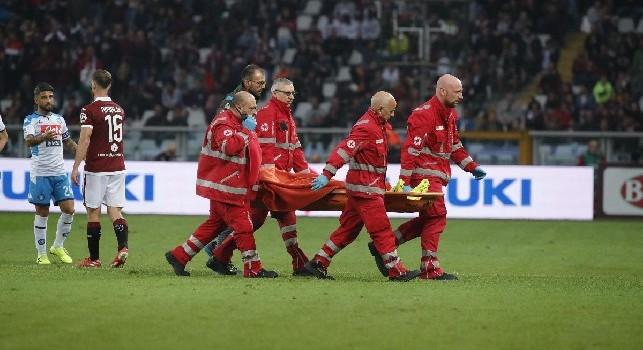 Caso infortuni Napoli, è la seconda squadra in A! Già otto ko, il 75% di natura muscolare