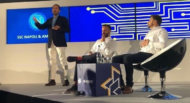 Napoli ed Amazon, Luigi De Laurentiis parla della partnership con il colosso del e-commerce