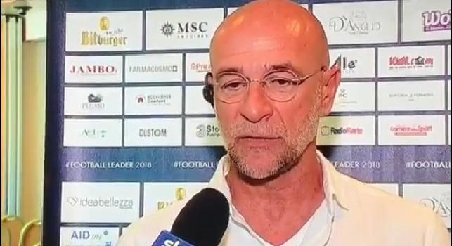Ballardini: Stravedo per Ancelotti, faccio il tifo per lui. La rosa del Napoli non è competitiva come quella di Inter e Juve
