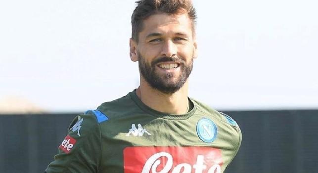 Il Napoli torna ad allenarsi e Llorente pubblica uno scatto su Instagram [FOTO]