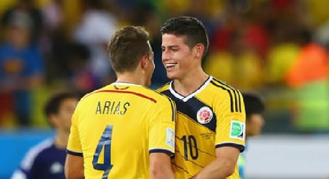 Atletico Madrid, Arias rivela: James è stato vicino a diventare 'colchonero', gli spiegai come funzionano le cose qui
