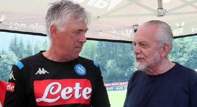 Il Roma - Ora Ancelotti dovrà risolvere i problemi sottolineati da De Laurentiis: guai a pensare ad un esonero