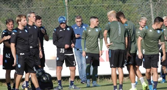 Discorso al gruppo di Ancelotti, Il Mattino: la reazione della squadra fa ben sperare