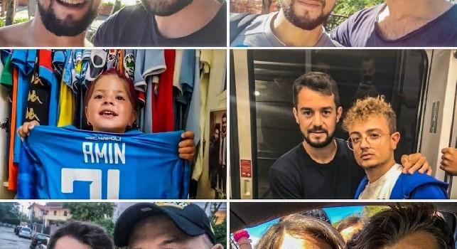 Younes con i tifosi su Twitter: E' bello essere a Napoli [FOTO]