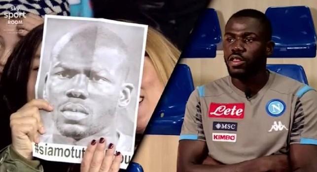 Koulibaly sul razzismo: Li invito qui, capiranno che sono come loro! Va combattuto negli stadi, ma anche prima! Devono vergognarsi