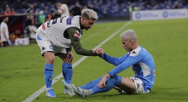 Formazioni Udinese-Napoli, Callejon e Mertens