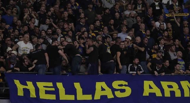 Tifosi Verona fatti entrare tardi al San Paolo, il sindaco scaligero insorge: Sgarbo inaudito: da noi i napoletani trattati come le altre tifoserie!