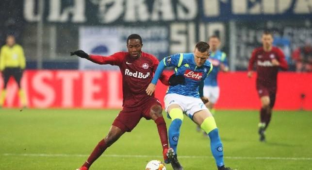Salisburgo-Napoli, le statistiche: austriaci senza sconfitte europee da 19 match! Gli uomini di Ancelotti non vincono fuori casa da otto partite di Champions