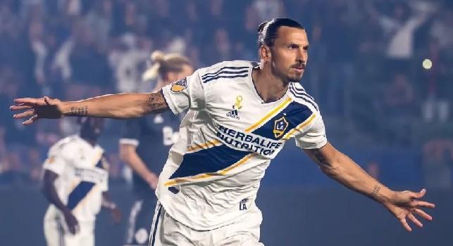 Zlatan Ibrahimovic è un calciatore svedese, attaccante e capitano dei L.A. Galaxy