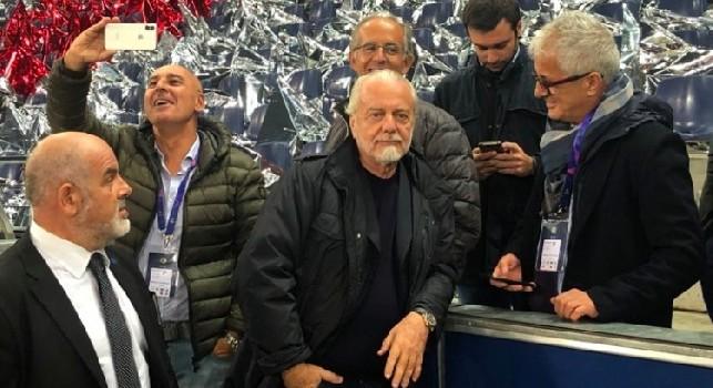 Ammutinamento Napoli, CorSport: De Laurentiis ha due settimane per studiare la multa, c'è una voce che gira sullo spogliatoio azzurro