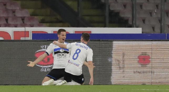 Atalanta-Napoli 1-0: Pasalic sblocca il match di testa