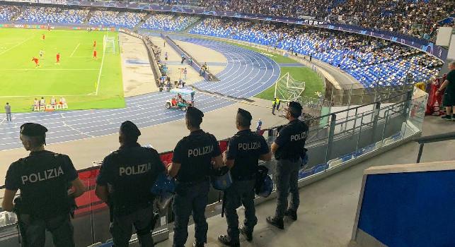 Questura-SSC Napoli, ipotesi agenti in borghese per proteggere i calciatori azzurri