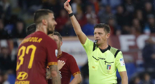 UFFICIALE - Cambia l'arbitro di Napoli-Roma: ecco Rocchi, aveva già diretto la gara d'andata