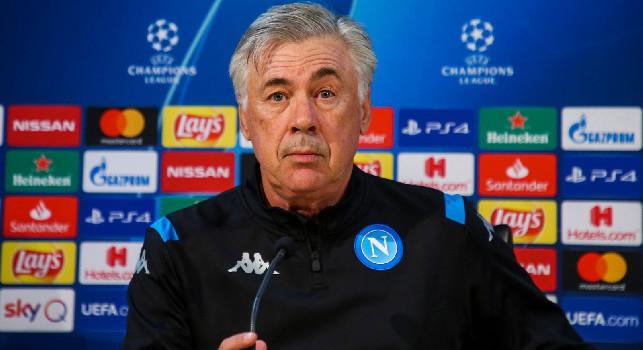 Napoli-Salisburgo, Ancelotti in conferena