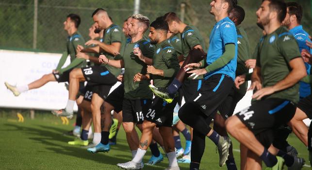 Manolas e Ghoulam in gruppo, Allan quasi! CorSport: Ancelotti e lo staff medico valuteranno se ritenerli già pronti per il Milan