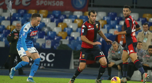 Il commento della SSC Napoli: Non si riesce a piegare la resistenza del Genoa, sfuggono i 3 punti tanto attesi