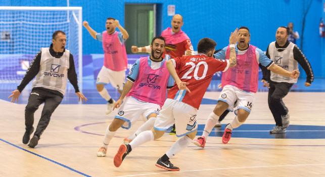 """Futsal Fuorigrotta, Milucci allo scadere regala il pari. Oliva: """"Una rimonta che ci dà forza"""" [FOTO]"""
