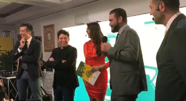 Edo De Laurentiis imita il padre: Vabbè, tornatevene a casa... [VIDEO]