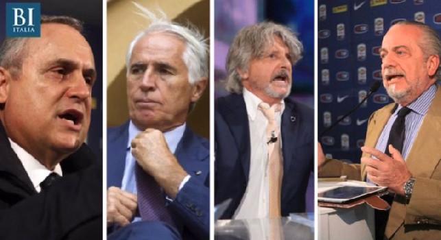 Belli capelli, io adesso gioco contro tutto e tutti: la <i>battaglia</i> di De Laurentiis in Lega sull'elezione di Miccichè [AUDIO]