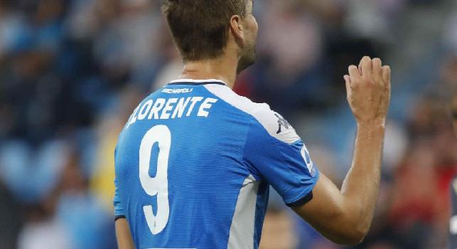 Ultimo cambio per gli azzurri: Ancelotti si affida a Llorente, out Lozano