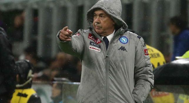 Tv Luna - Niente esonero per Ancelotti, resta al timone del Napoli: non darà mai le dimissioni