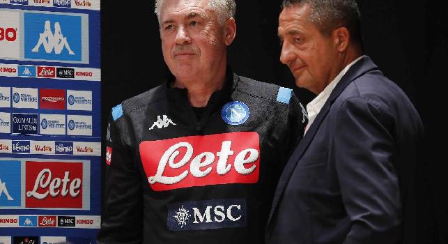 Alvino: Deroga Ssc Napoli al silenzio stampa solo per oggi, Ancelotti con Di Lorenzo in conferenza