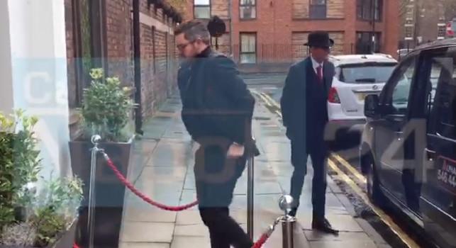 Pranzo UEFA, arrivati i dirigenti del Liverpool [VIDEO CN24]